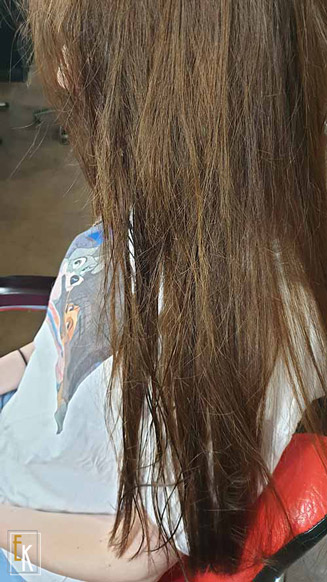 hajszerkezet újraépítés előtte